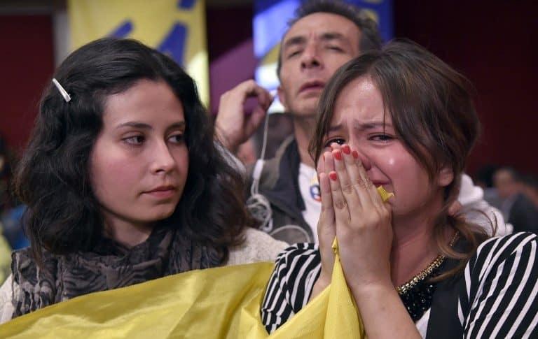 Plebiscito por la paz en Colombia.