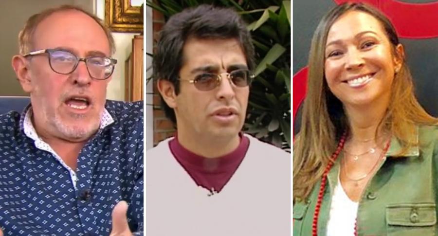 Antonio Morales, Jaime Garzón y Darcy Quinn