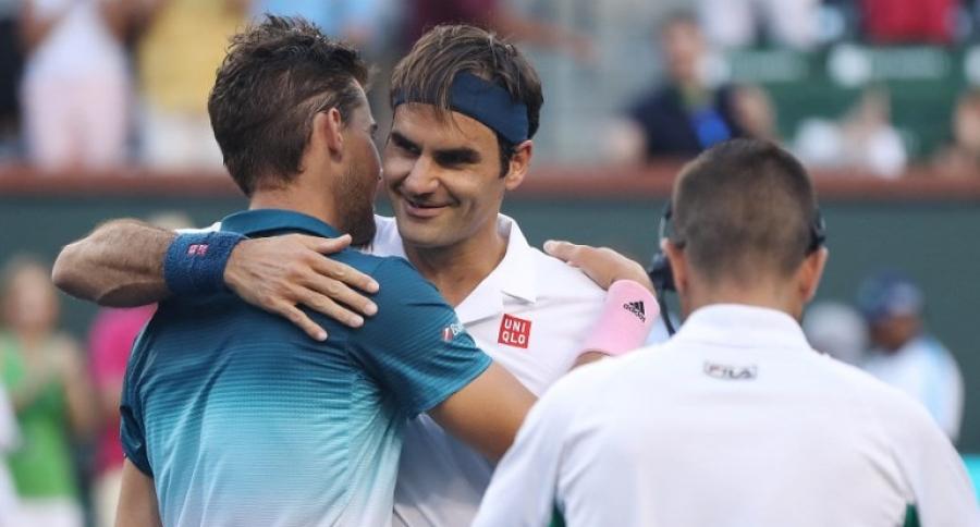 Roger Federer y Dominic Thiem