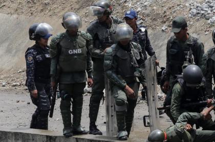 Miembros de la Fuerza Armada de Venezuela