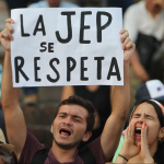 Manifestaciones a favor de la JEP