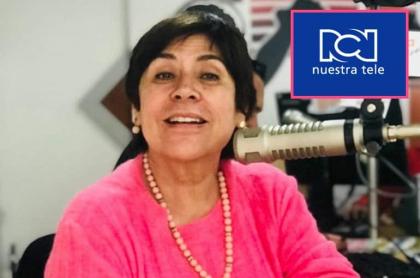 Graciela Torres, 'la Negra candela', presentadora.