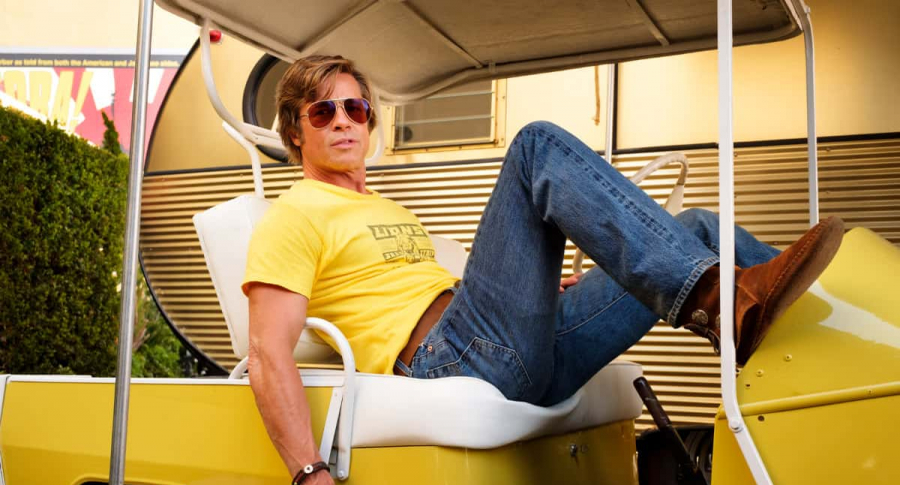Brad Pitt en 'Once Upon A Time In Hollywood'