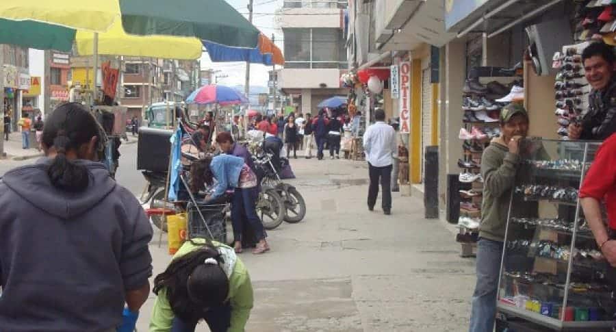 vendedores ambulantes