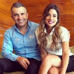 Juan Pablo Hernández y Marina Granziera