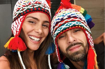 Greeicy Rendón y Mike Bahía, cantantes.
