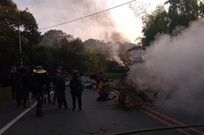 Manifestaciones Cauca