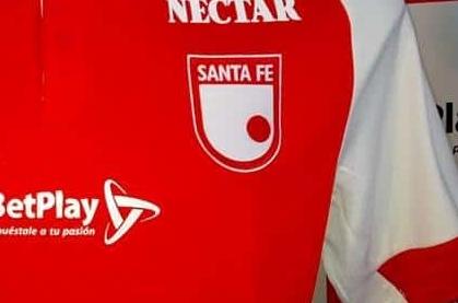 Camiseta de Santa Fe