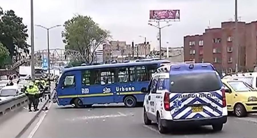 Accidente SITP