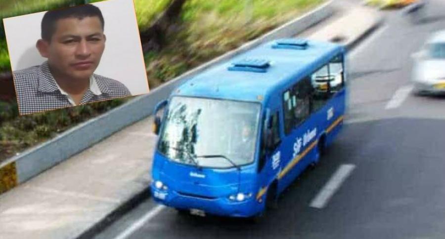 Accidente con bus del SITP