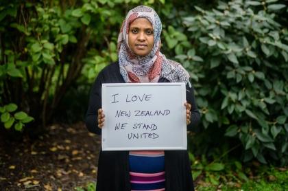 Esposa de herido en atentado a Nueva Zelanda