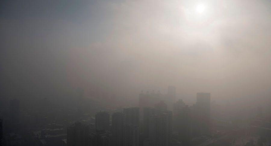 Aire contaminado en la ciudad (imagen de referencia)