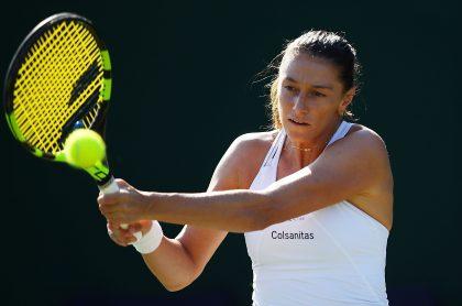 Mariana Duque Mariño, en Wimbledon