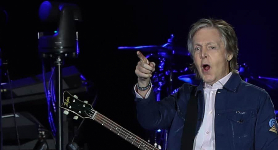 Paul McCartney, en Santiago de Chile
