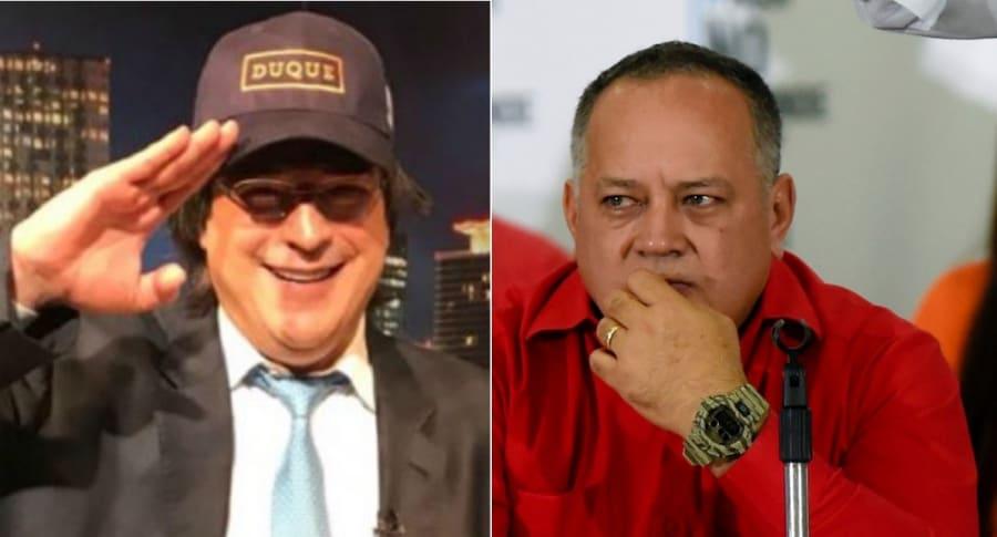 Jayme Bayly y Diosdado Cabello