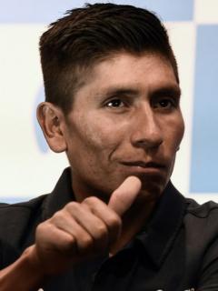 En francés y español, Nairo se mostró dichoso por el duro recorrido del Tour 2020