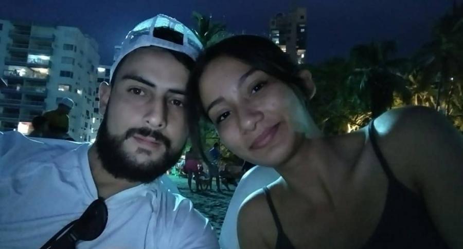 Gustavo Rugeles y Marcela González