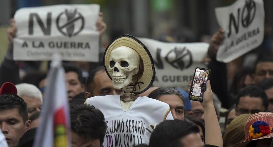Marchas por la paz.