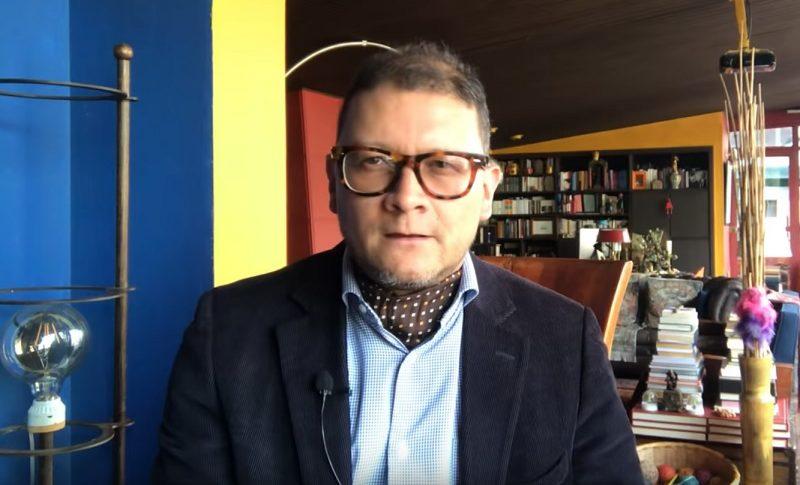 Professor Fabián Sanabria had to retire (to the air) to