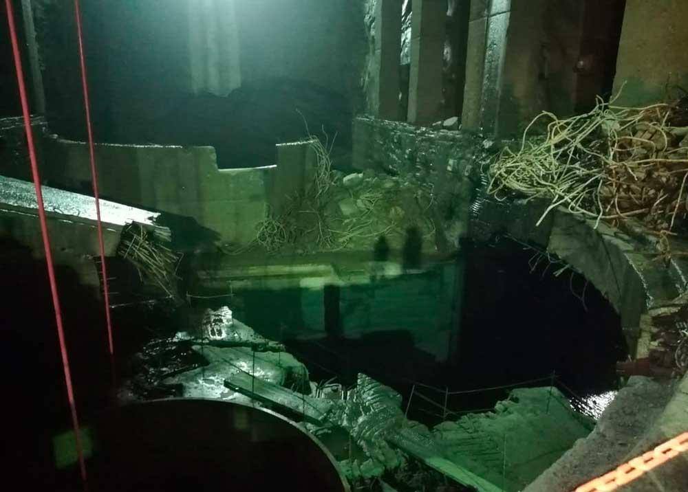 Casa de máquinas de Hidroituango