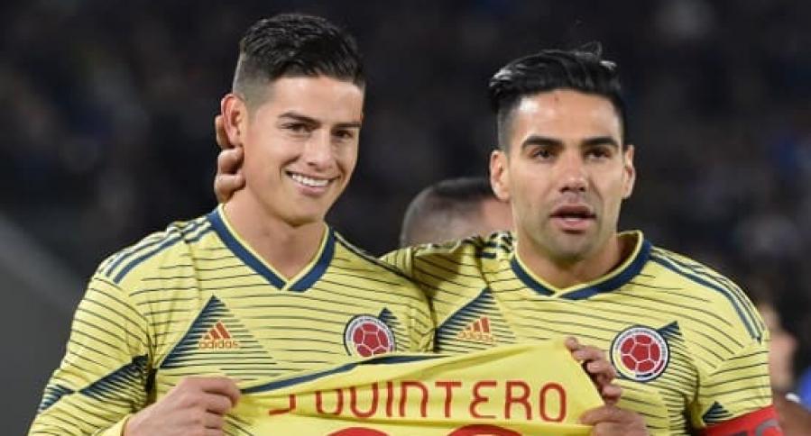 James Rodríguez y Falcao García