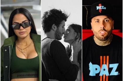 Natti Natasha, Sebastián Yatra, Tini y Nicky Jam