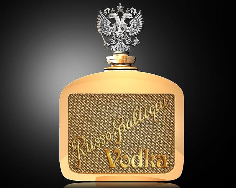 New Russian-Baltic vodka
