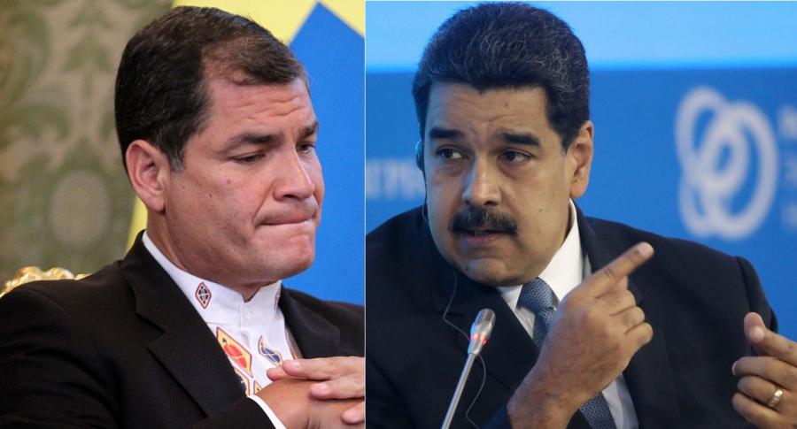Correa y Maduro