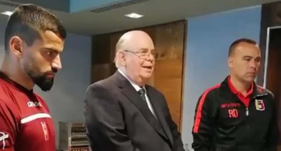 Tomás Rincón, Antonio Ecarri y Rafael Dudamel