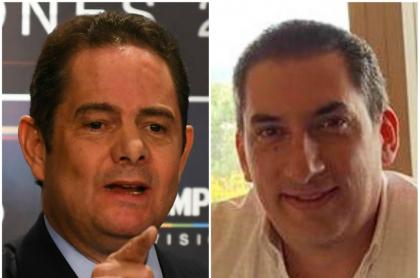 Germán Vargas Lleras y Luis Eduardo Díazgranados