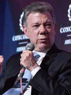 ¿Por qué se va Juan Manuel Santos para Ucrania?