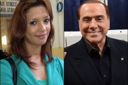 Imane Fadil y Silvio Berlusconi