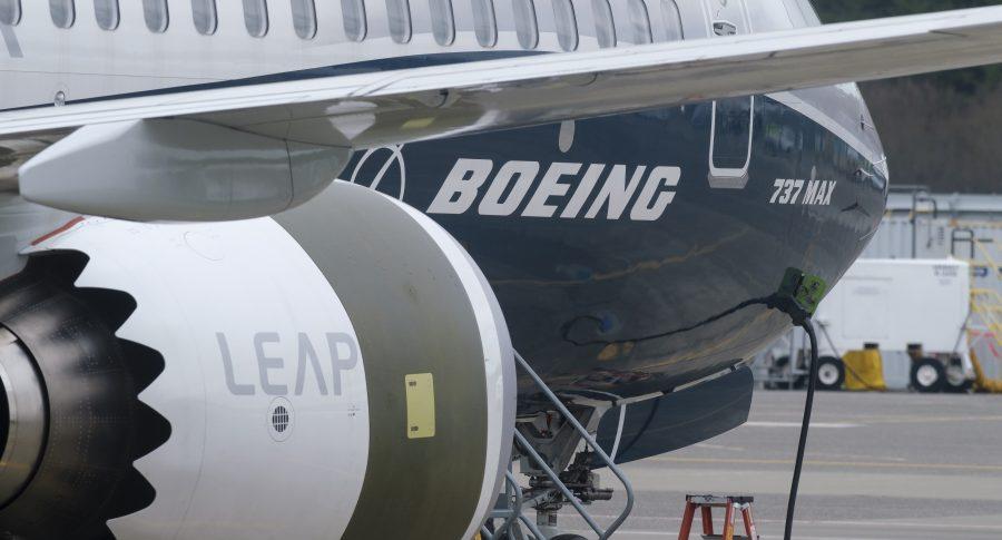 Avión de pruebas de Boeing 737 MAX 9 en Seattle, Washington (EE. UU).