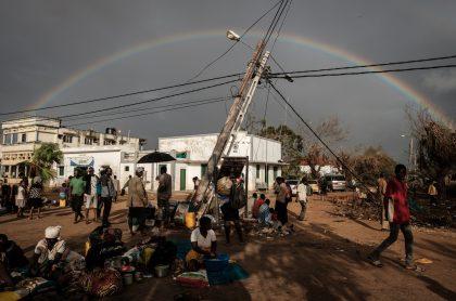 Arcoíris en Buzi, Mozambique