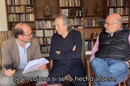 Daniel-Samper-y-Joan-Manuel-Serrat
