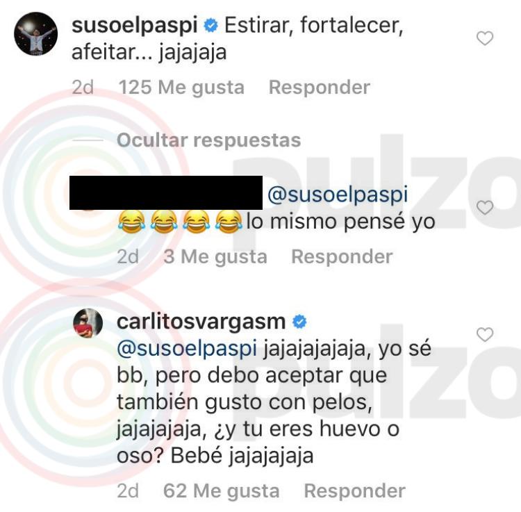 Comentario de Suso a foto de Carlos Vargas
