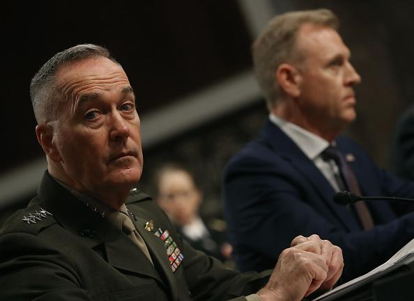 El secretario en funciones de Defensa, Patrick Shanahan.