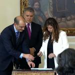 Posesión de magistrada Cristina Lombana