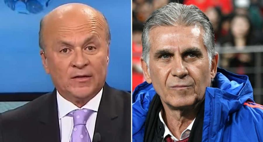 Carlos Antonio Vélez y Carlos Queiroz