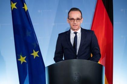Heiko Maas, ministro de Relaciones Exteriores de Alemania