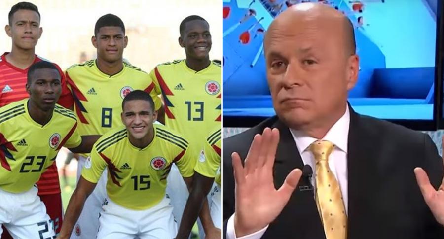 Selección Colombia Sub-17 y Carlos Antonio Vélez