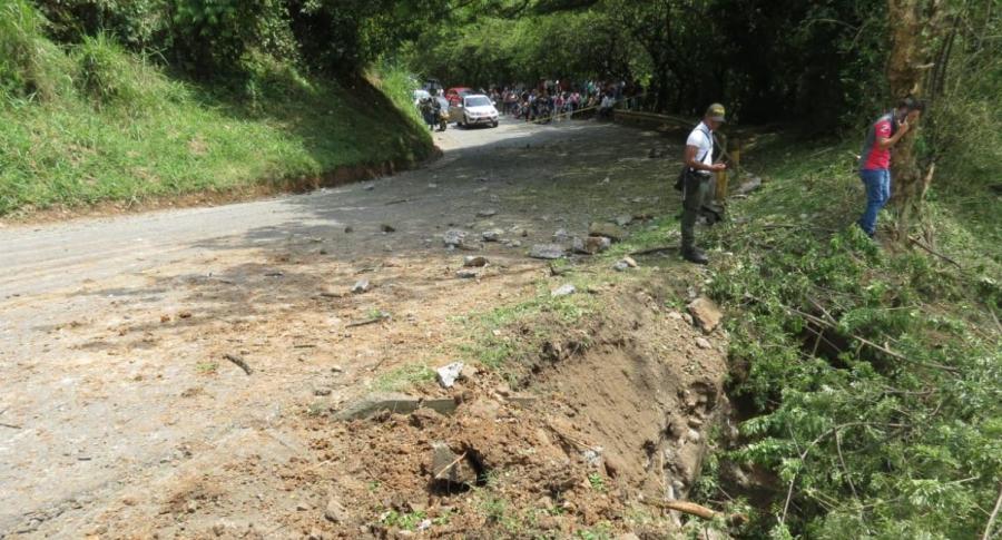 Atentado en Cauca