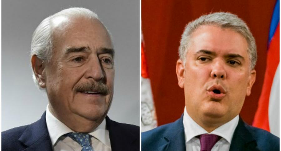 Andrés Pastrana e Iván Duque