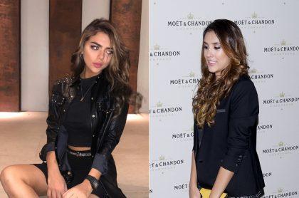 Juana Valentina Restrepo y Daniela Ospina, modelos.