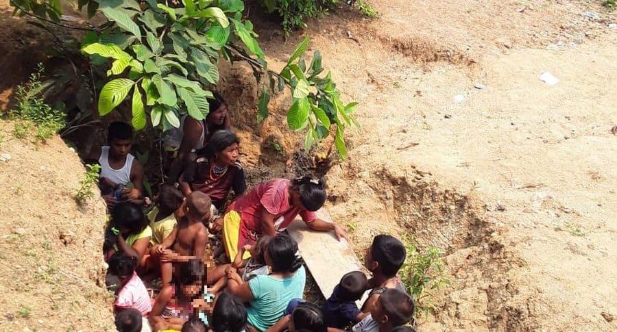 Habitantes de Chocó se refugian de balas