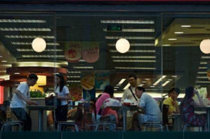 Restaurante de comidas rápidas.