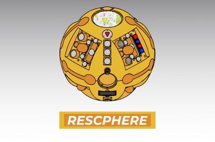 esfera para rescatar personas