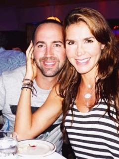 Lucas Arnau, cantante, e Isabel Cristina Estrada, actriz.