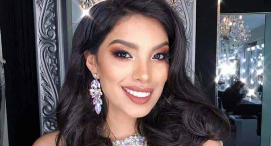 Anyella Grados, ex Miss Perú.