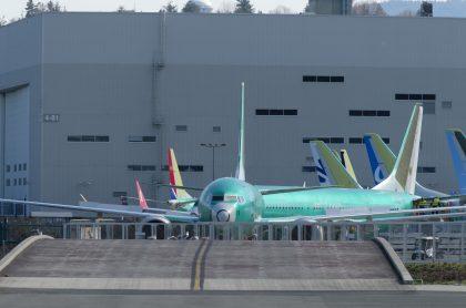 Aviones 737 MAX en prueba